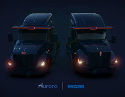 PACCAR and Aurora Form Strategic Partnership for Autonomous Trucks