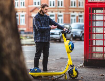 Eight Out of Ten Britons Ready to Try E-scooters