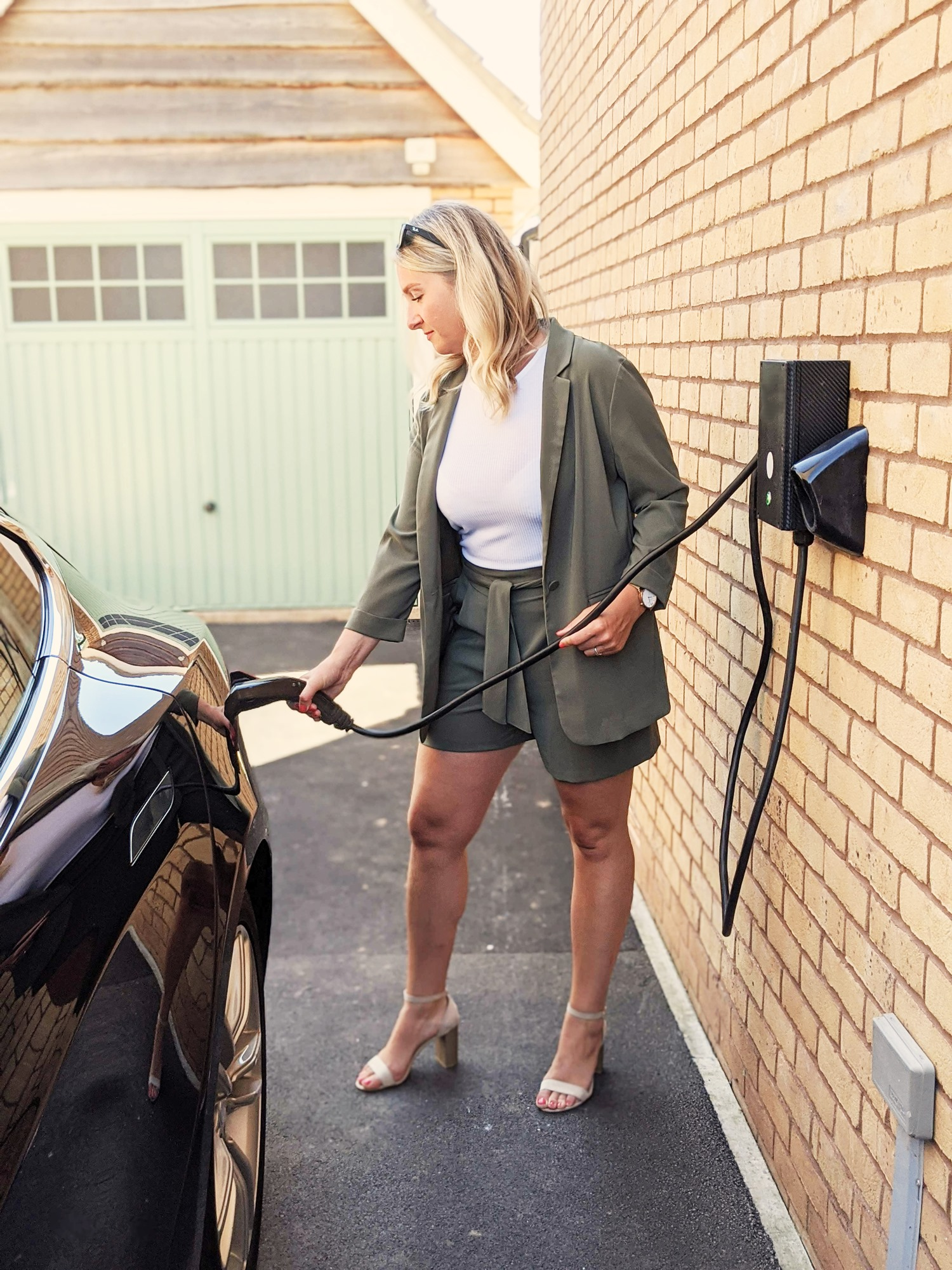 Creating a network of community-based, shared EV charging