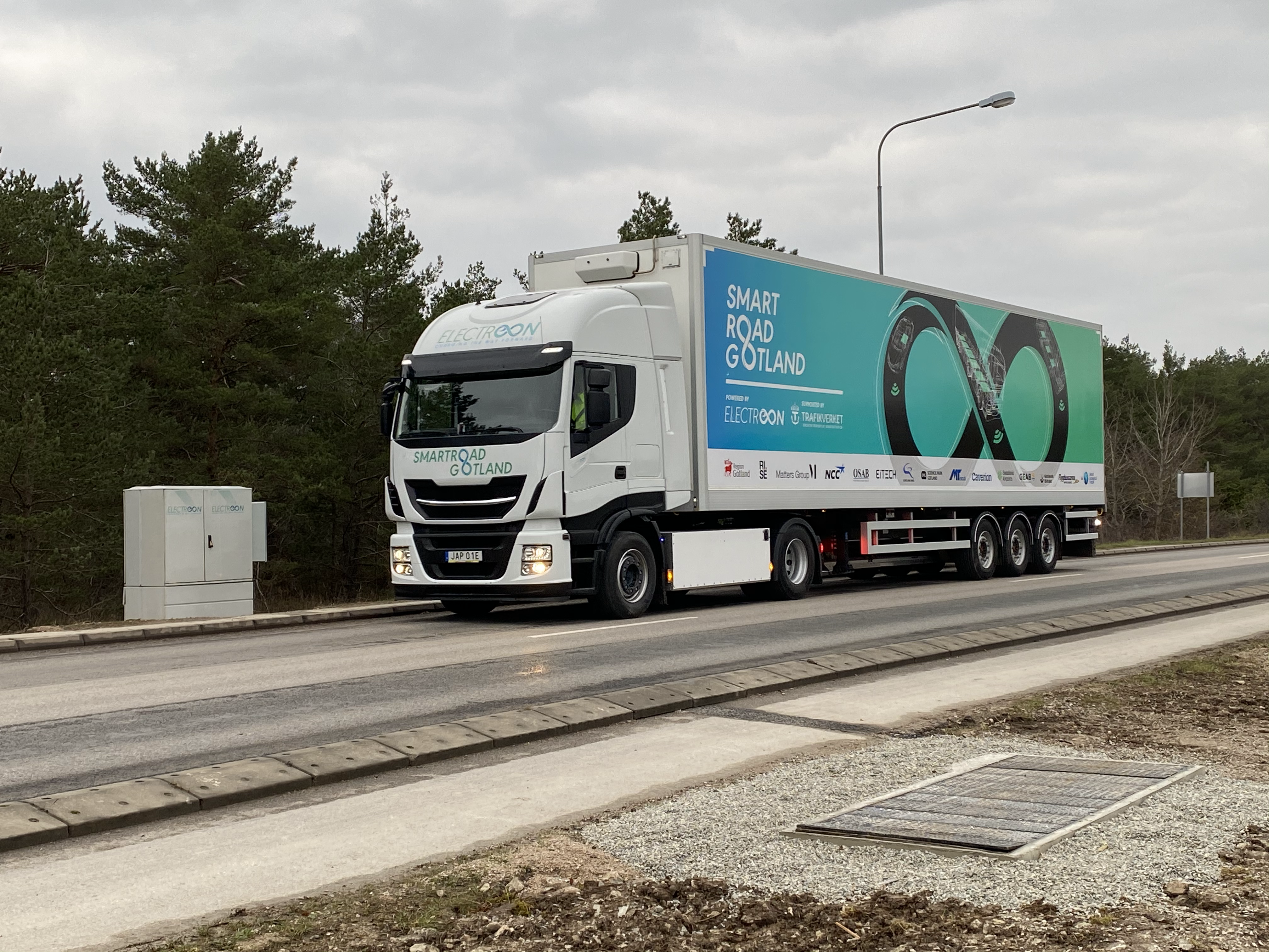 SmartRoad Gotland truck