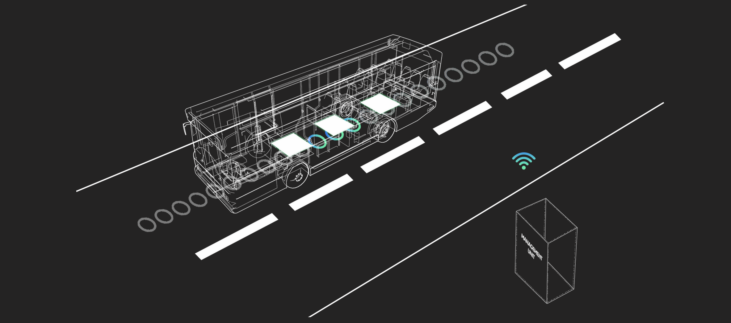 Under-road units eliminate the need to stop for charging
