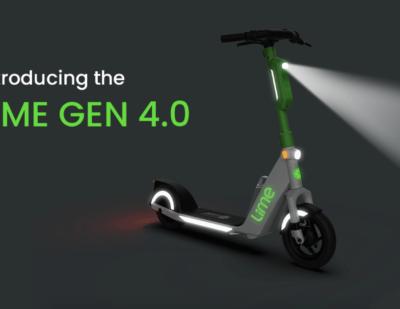 Lime Announces the Gen4 Scooter as It Achieves First Profitable Quarter