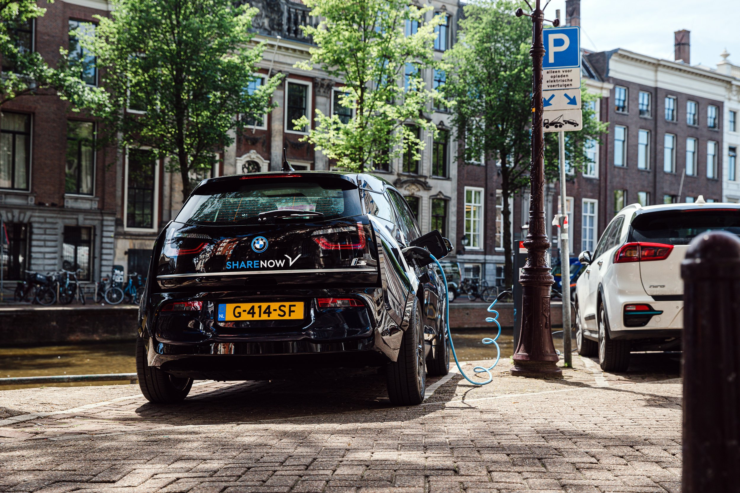 Electric fleet in Amsterdam
