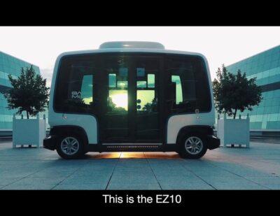 EasyMile EZ10 Shared Autonomous Shuttle