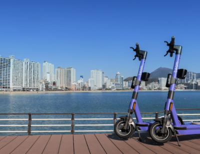 Beam Expands Its Shared E-scooter Service in the Yeongnam Area
