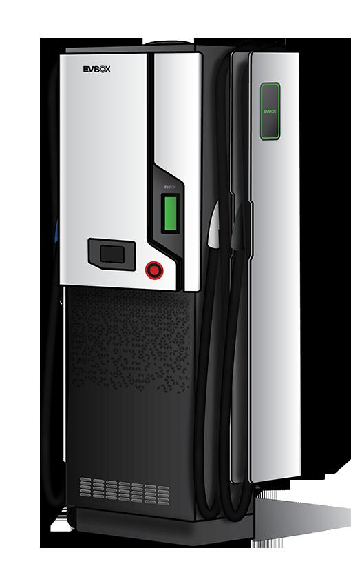 EVBox Troniq - 50 kW DC fast charging station