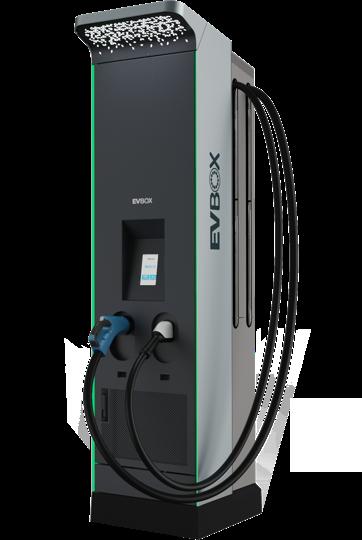 EVBox Ultroniq - high power fast charging DC station