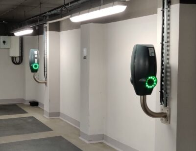 Franklin Energy Supplies 500 EVBox Charging Ports to Q-Park