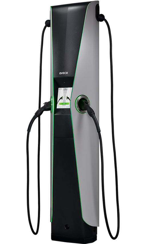 EVBox Iqon - award-winning commercial AC charger