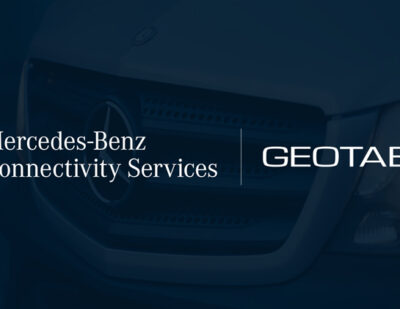 Geotab and Mercedes-Benz Connectivity Services Come Together