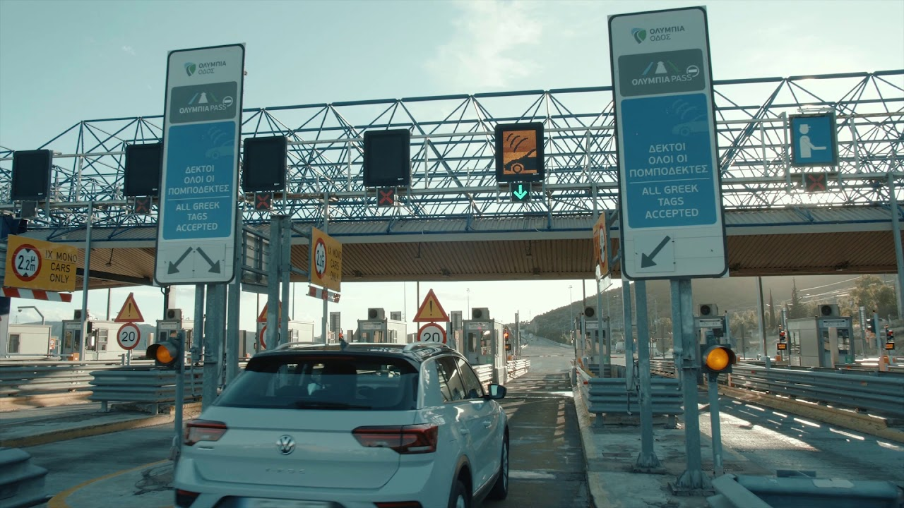 Hybrid Multi-Lane Toll System in Greece