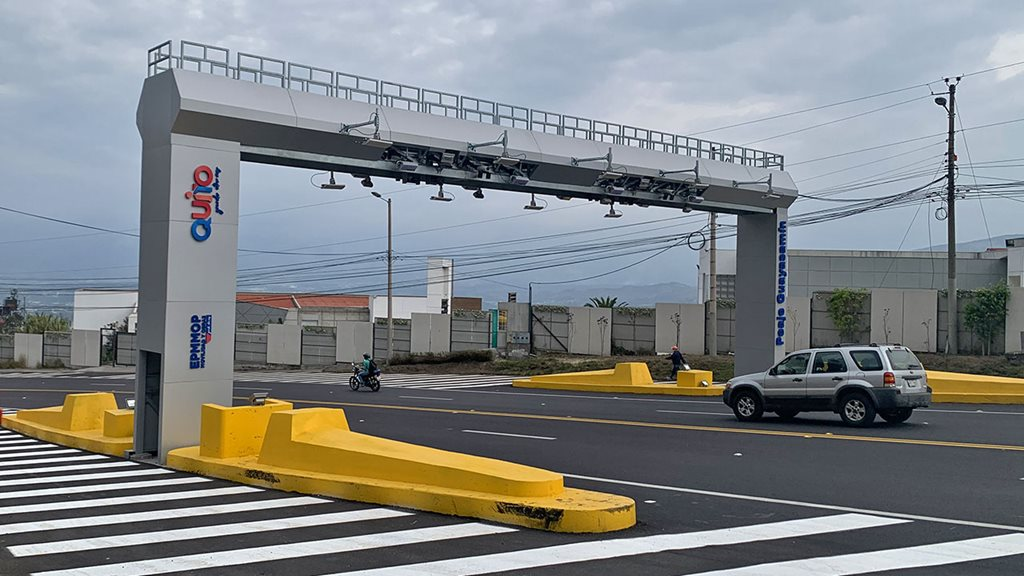 First MLFF toll in Ecuador