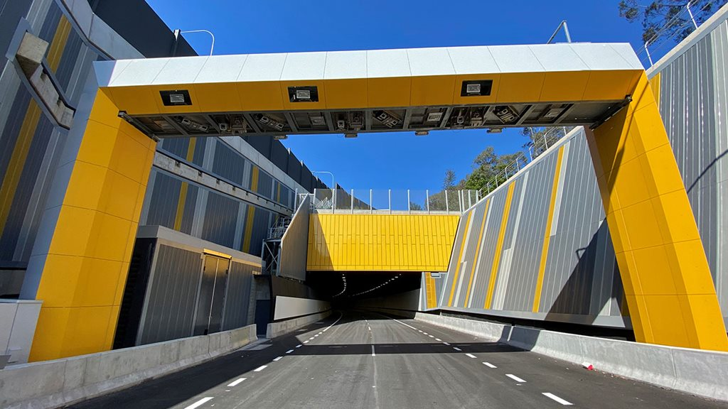 State of the art safety in Sydney's NorthConnex tunnel