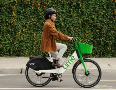 Lime Doubles down on E-bikes with New Hardware