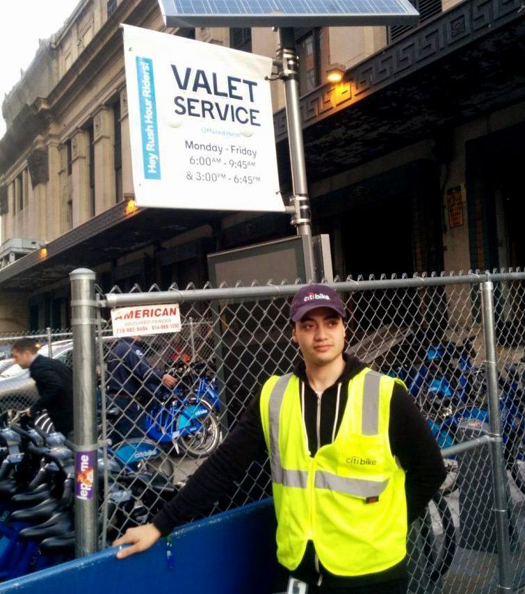 Bike Valet Service