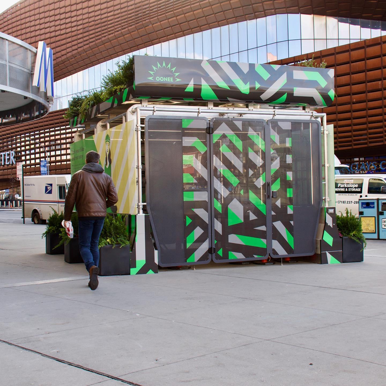 Atlantic Terminal installation