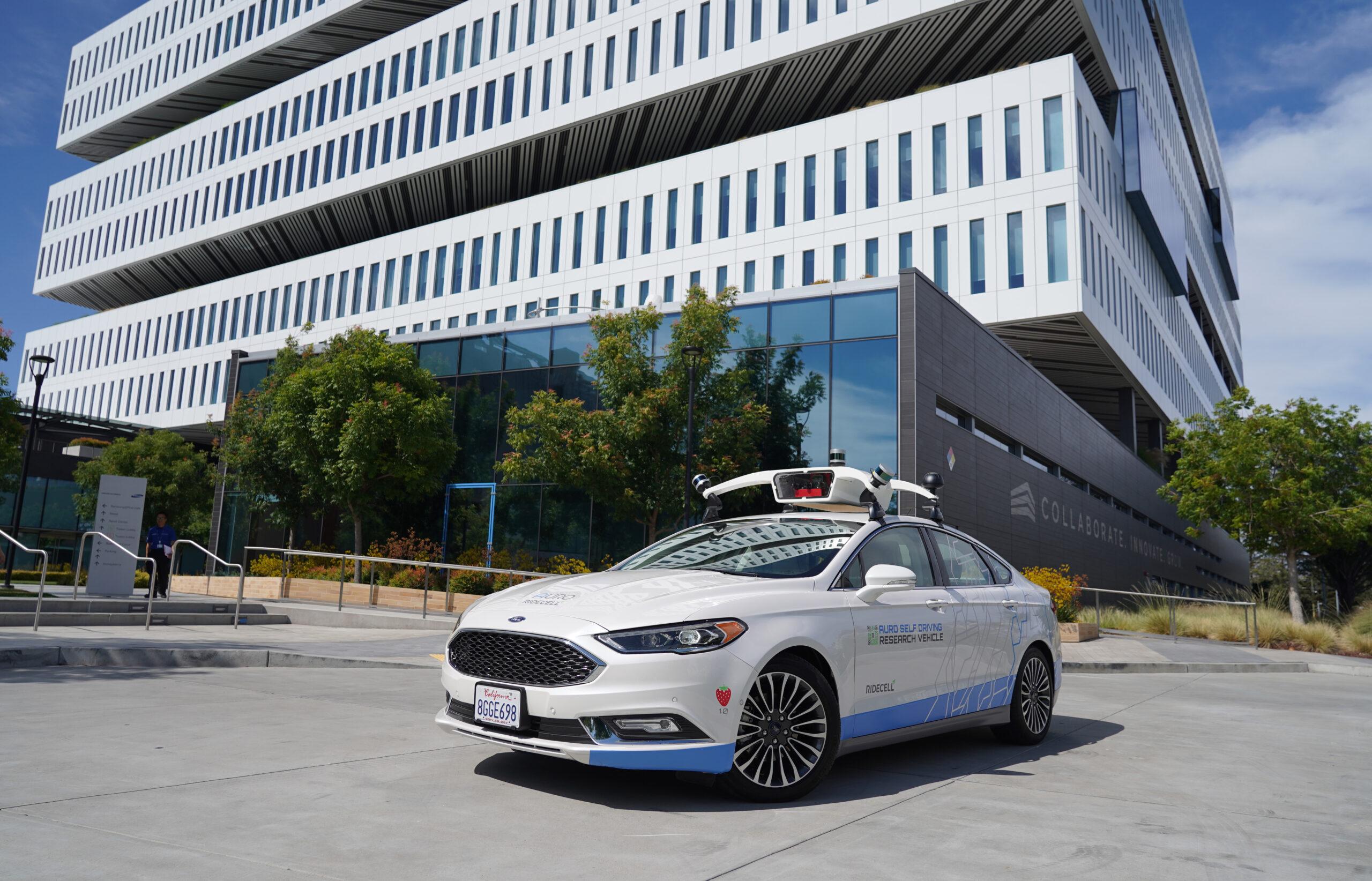 Ridecell Auro self-driving platform