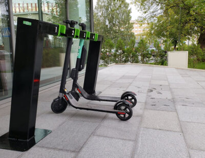 Turvec | Electric Scooter Docking Station
