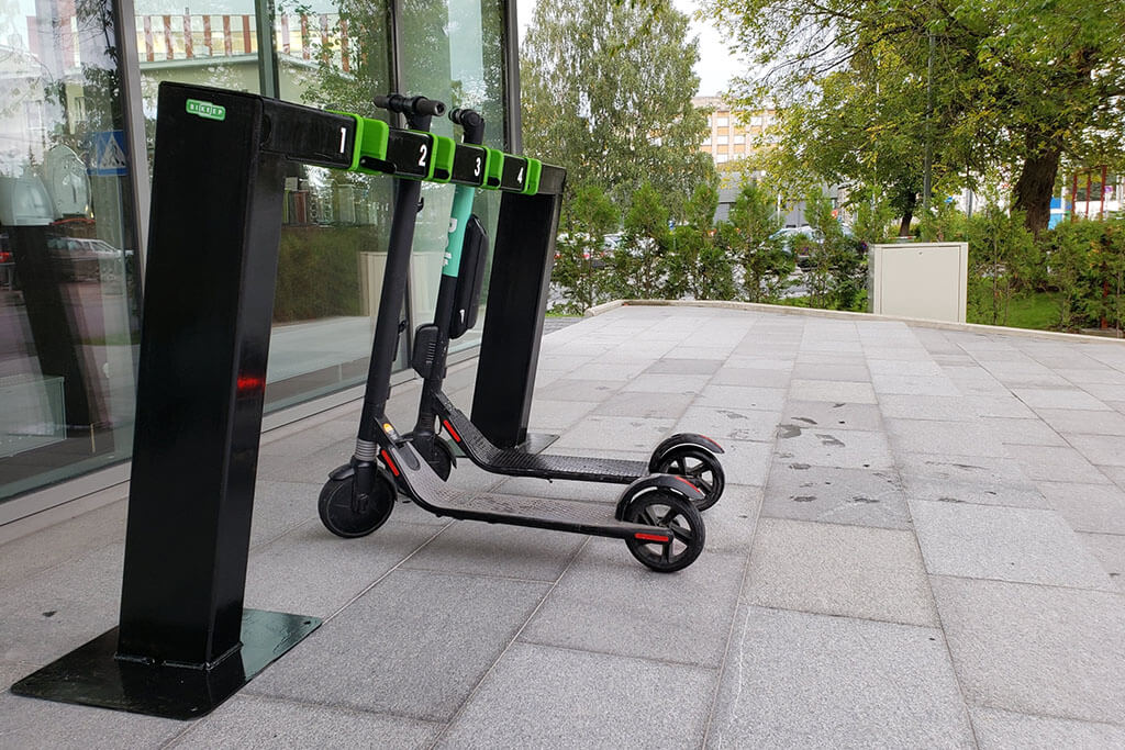 Electric Scooter Docking Station