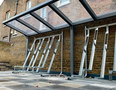 Turvec | Semi Vertical Bike Racks