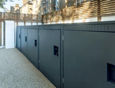 Turvec | Single Bike Lockers