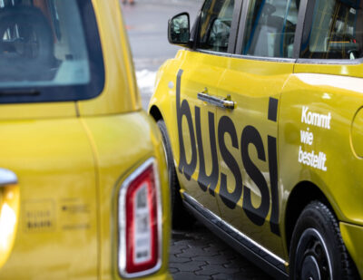 Ruhrbahn and Via Launch Bussi, an on-Demand Transit Service in Essen
