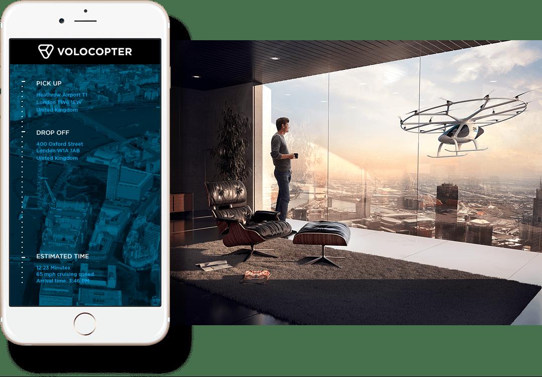 Volocopter app