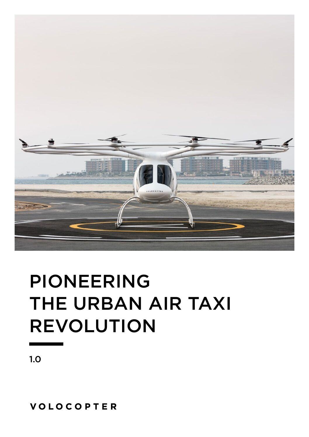 Volocopter: Pioneering the Urban Air Taxi Revolution