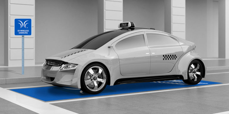 Wirelessly powered shared & autonomous vehicles