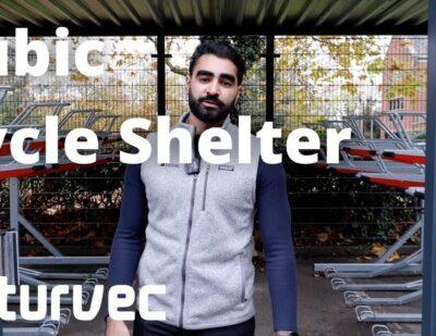 Cubic Cycle Shelter | Wokingham Borough Council