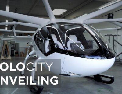 New VoloCity Air Taxi Design