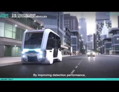 The Leddar™ Pixell Cocoon LiDAR for Autonomous Vehicles