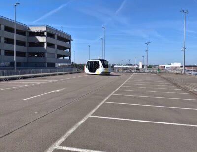 Autonomous Shuttle Demonstration – Brussels Airport