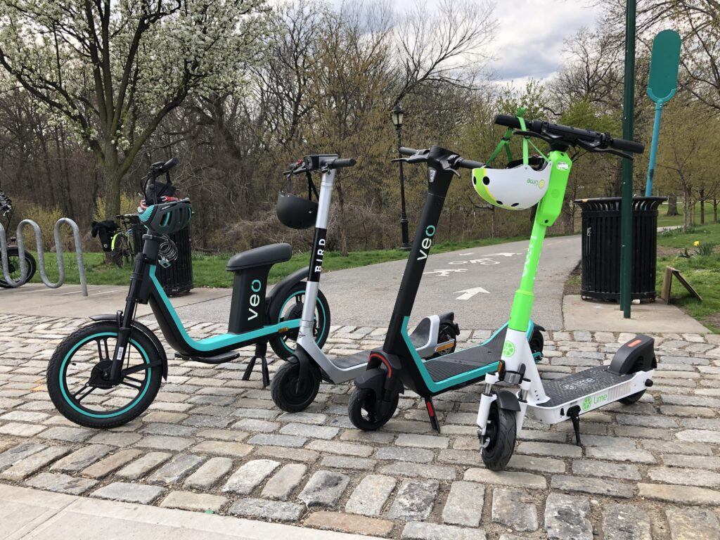 e-scooter bronx