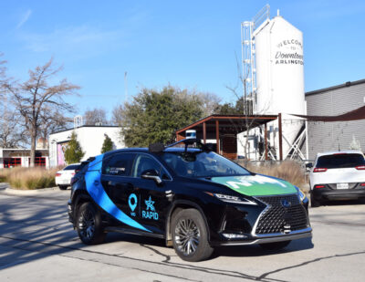 City Of Arlington Launches Self-Driving Shuttle Service With RAPID