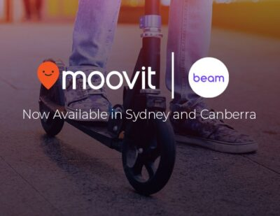 Beam and Moovit Announce Australian Partnership