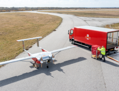 Royal Mail Trials Inter-Island Drone Deliveries