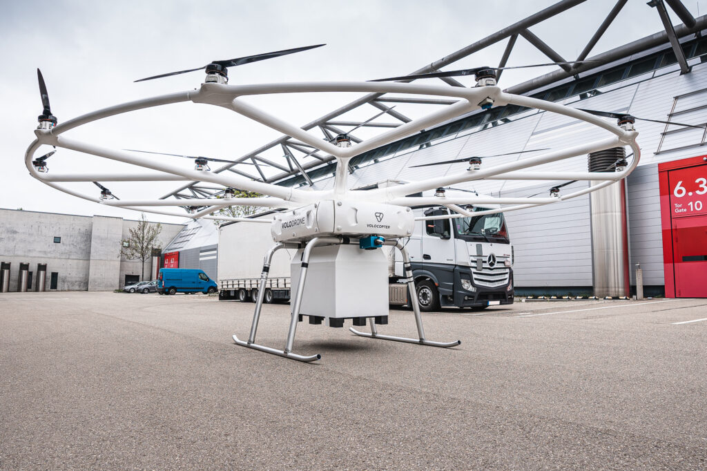 Volocopter near earth autonomy