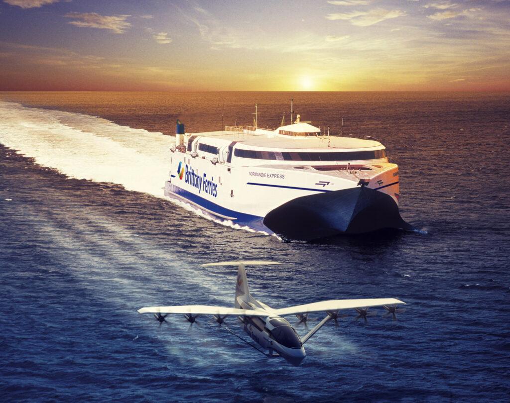 Brittany Ferries flying ferries