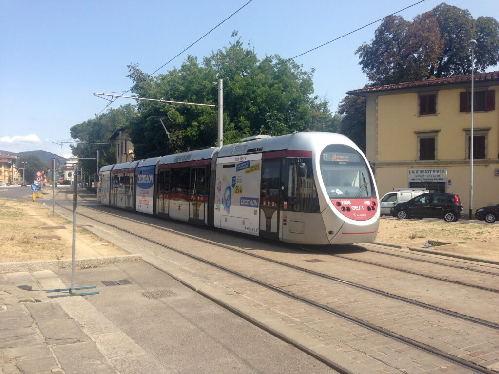 smart trams florence