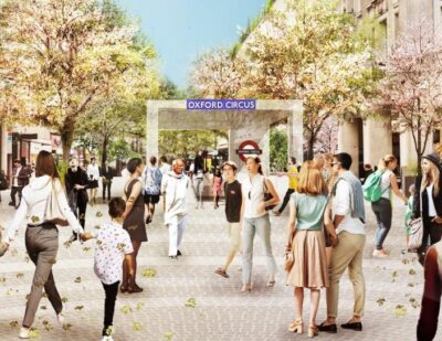 Plans for 'Iconic' Pedestrian-Friendly Oxford Circus Unveiled