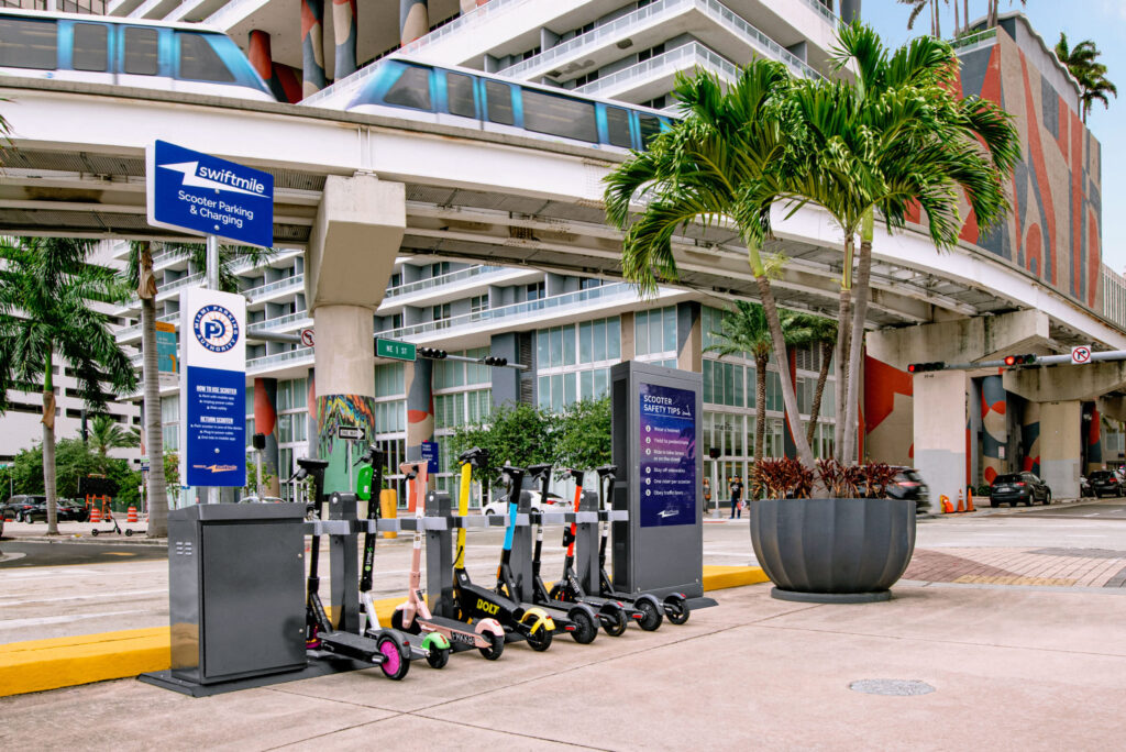 swiftmile micromobility charging Miami