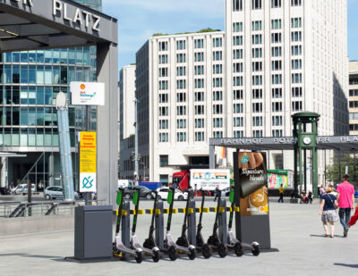 Swiftmile to Add Micromobility Charging to Shell Retail Stations in Berlin