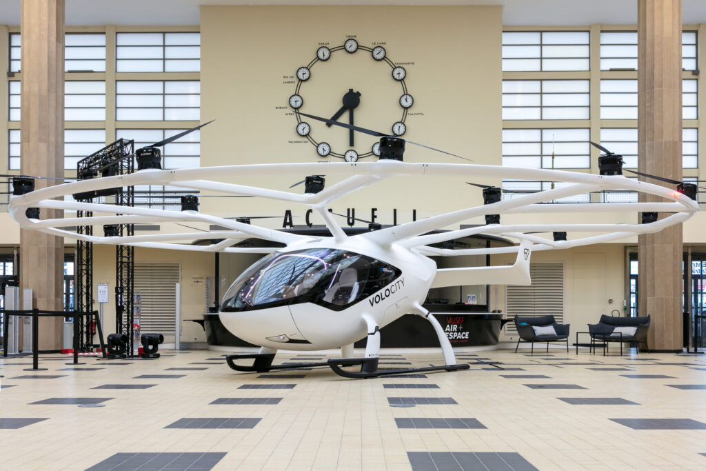 Volocopter Paris air forum
