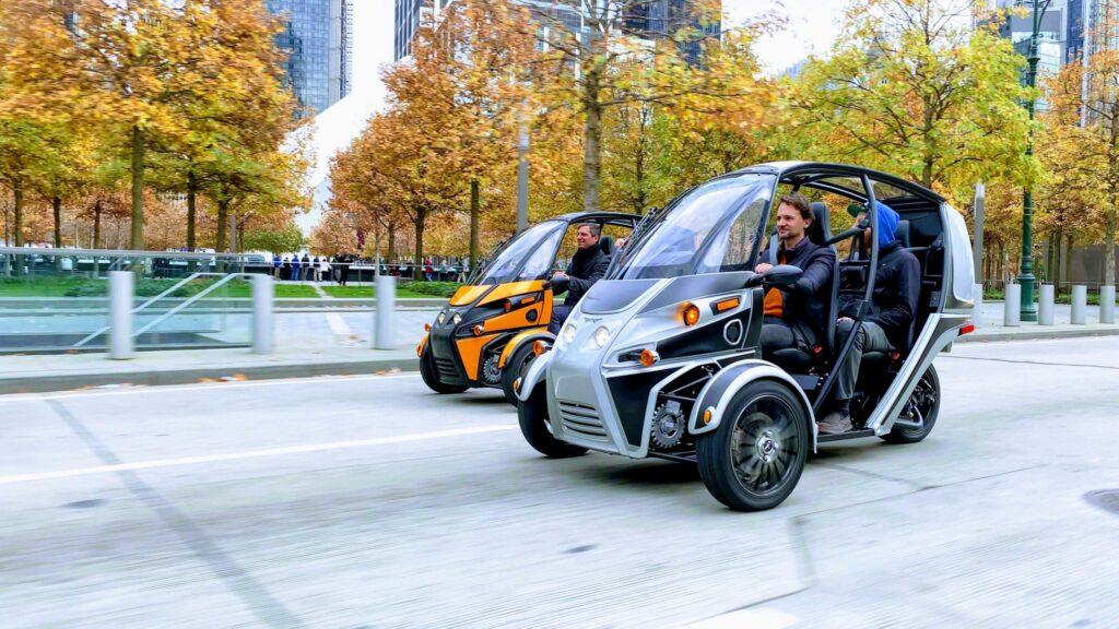 arcimoto driverless fuv