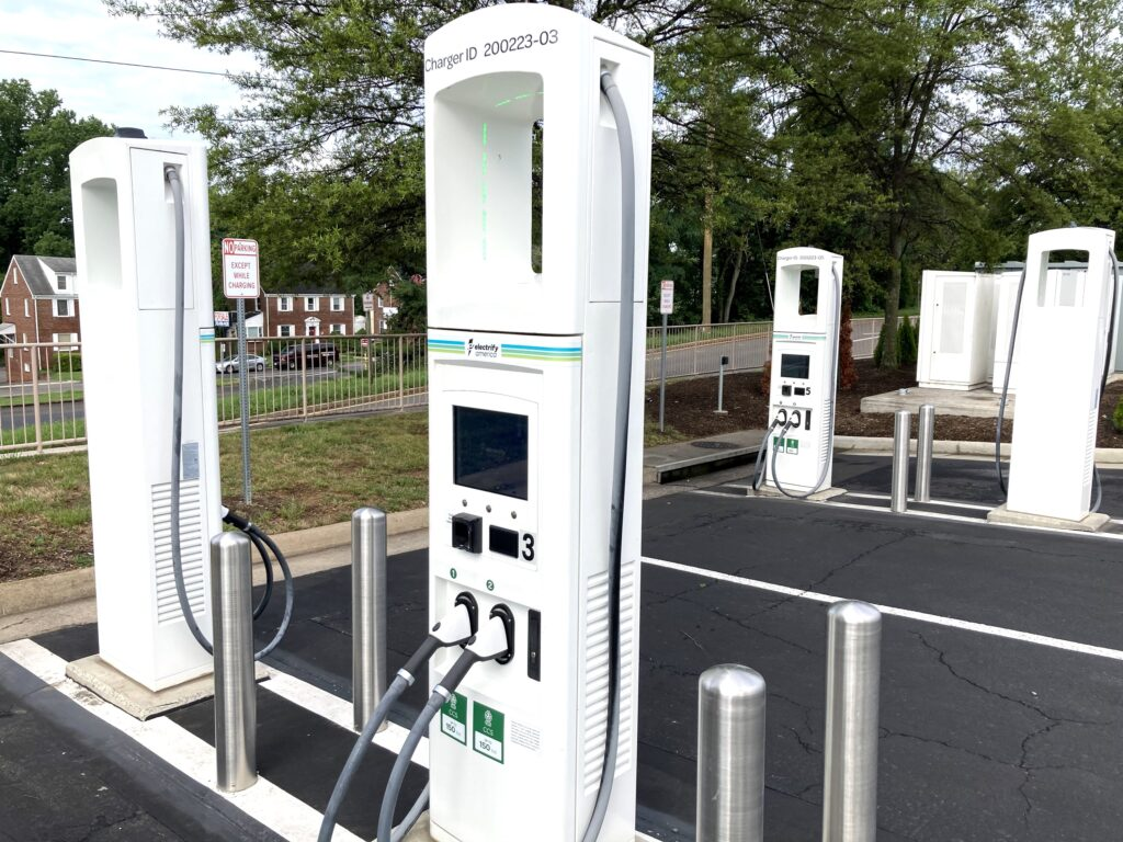 Electrify America charging network