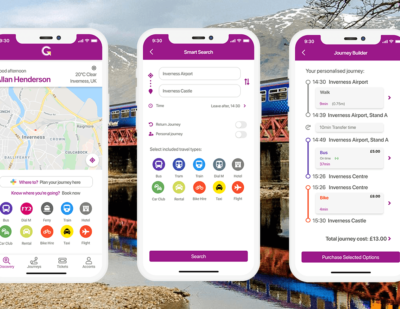 HITRANS Launches Pioneering MaaS App for Rural Scotland