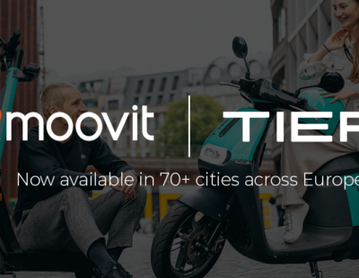 Moovit and TIER Join Forces in 70+ Cities for First and Last Mile