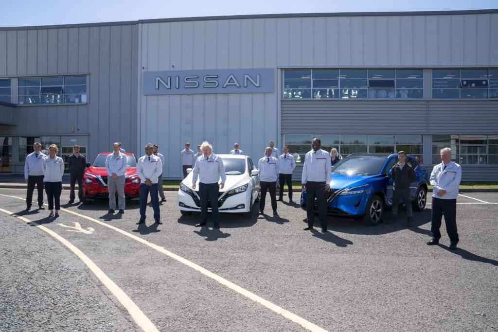 Nissan Boris Johnson