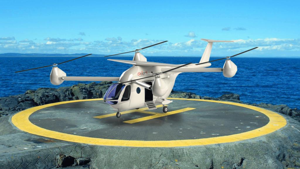 rotor x evtol
